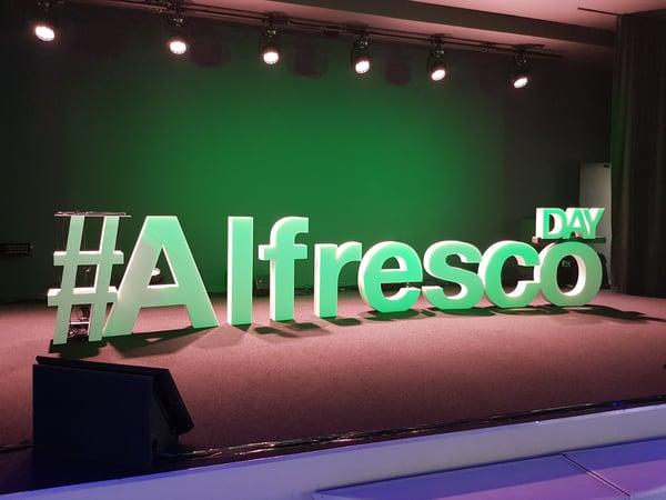 Alfresco day